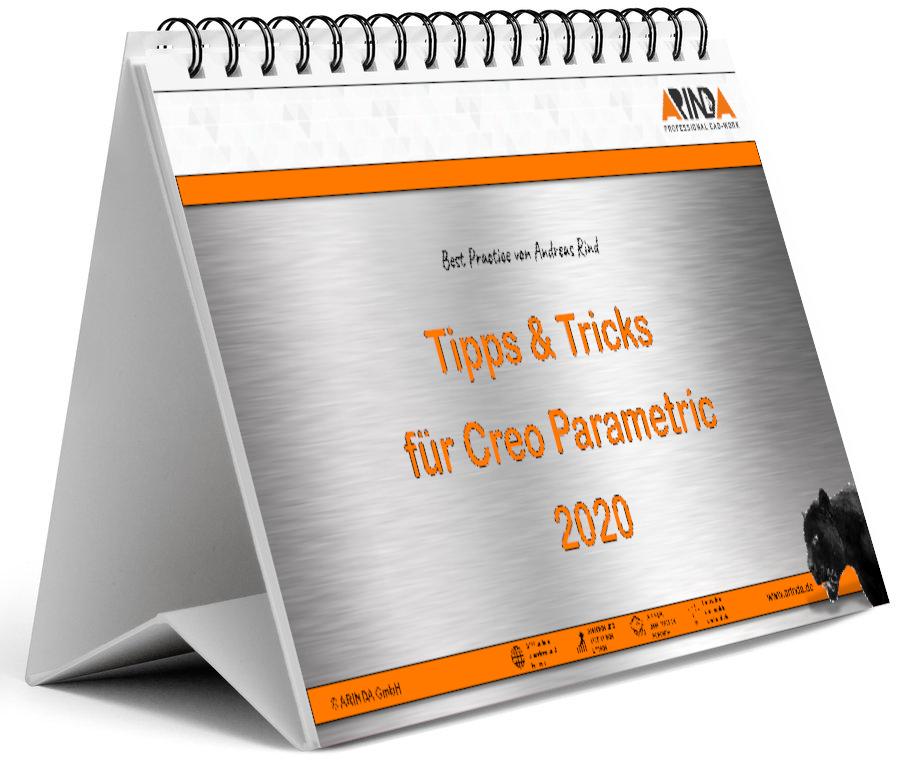 Creo Parametric Wochenkalender 2020 Tipps & Tricks