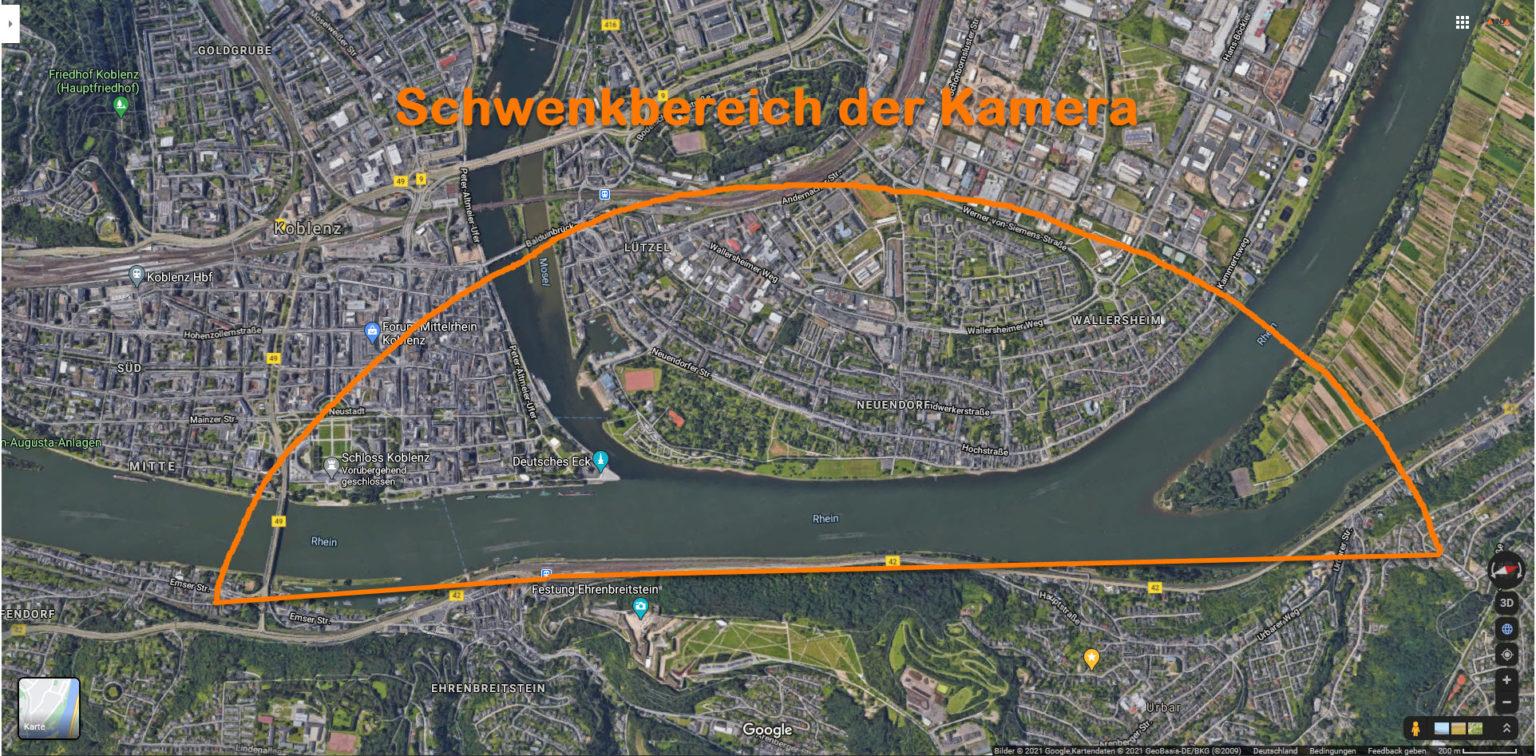 Hochwasser Februar 2021 in Koblenz und am Deutschen Eck